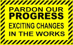 Progress notice